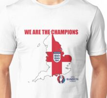 ENGLAND WE ARE THE CHAMPIONS FOOTBALL 2016 Unisex T-Shirt