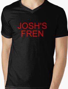 Music/Humour - Josh's Fren Mens V-Neck T-Shirt