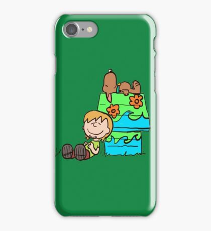SNOOPY-DOO - SHAGGY BROWN iPhone Case/Skin