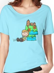 SNOOPY-DOO - SHAGGY BROWN Women's Relaxed Fit T-Shirt