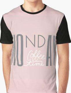 Monday Mood Graphic T-Shirt