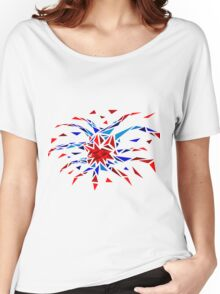 Low Poly Firework Women's Relaxed Fit T-Shirt