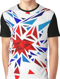 Low Poly Firework Graphic T-Shirt
