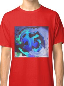 Swim with the Mermaids in the Great Natural Deep Blue Sea Classic T-Shirt