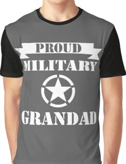 fathers day gift military grandad Graphic T-Shirt