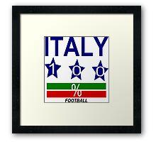 ITALY Framed Print
