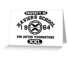 X-MEN XAVIER´S SCHOOL Greeting Card