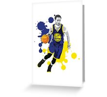 STEPHEN CURRY - GOLDEN STATE WARRIORS Greeting Card