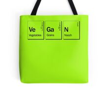 Chemical make up of vegans Tote Bag