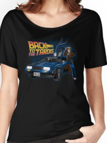 back to the tardis Women's Relaxed Fit T-Shirt