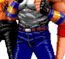 STREETS OF RAGE -AXEL-BLAZE-ADAM Sticker