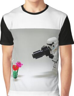 Storm Trooper Photographer Graphic T-Shirt