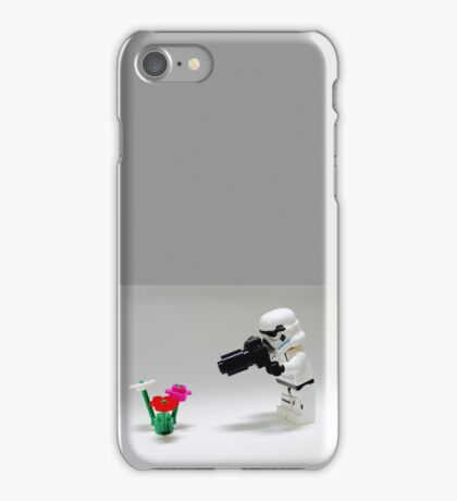 Storm Trooper Photographer iPhone Case/Skin
