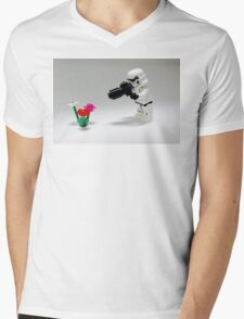 Storm Trooper Photographer Mens V-Neck T-Shirt