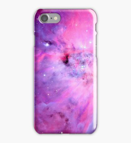 Red, Pink, and Blue Space iPhone Case/Skin