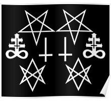 Satanic Lines Poster