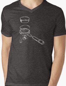 Exploded Portafilter Mens V-Neck T-Shirt