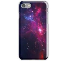 Blue and Red Space iPhone Case/Skin