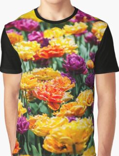 Radiant Tulips Graphic T-Shirt