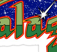 GALAGA CLASSIC ARCADE GAME Sticker