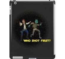 Who Shot First? iPad Case/Skin
