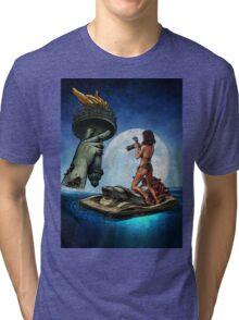 Winya No.18 Tri-blend T-Shirt