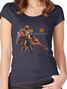 DRAGON KNIGHT Women's Fitted Scoop T-Shirt