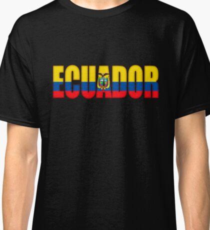 Ecuador Flag Classic T-Shirt