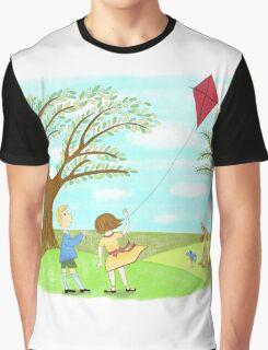 Kites Are Fun Graphic T-Shirt
