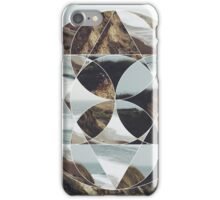 creative mixed circle collage effect  iPhone Case/Skin