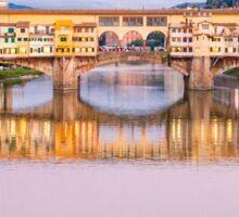 Golden Bridge, Florence Sticker