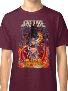 SheVibe Ride BodyWorx by Sliquid Cover Art Classic T-Shirt