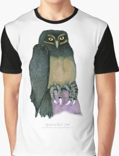 spectacled owl, tony fernandes Graphic T-Shirt