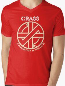 crass Mens V-Neck T-Shirt