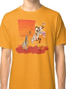 Calvin and Hobbes: Doctor Who From Another Planet! Classic T-Shirt