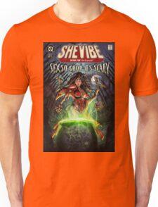 SheVibe Sliquid Cover Art Unisex T-Shirt