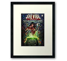 SheVibe Sliquid Cover Art Framed Print