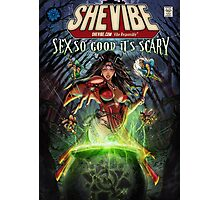 SheVibe Sliquid Cover Art Photographic Print