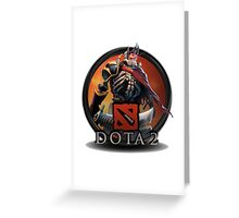 DOTA2 LOGO Greeting Card