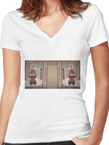 'nothing to wear'  Women's Fitted V-Neck T-Shirt
