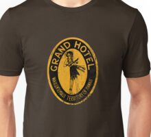 Grand Hotel Hawaii - Retro Art Unisex T-Shirt