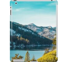 Echo Lake, Tahoe iPad Case/Skin