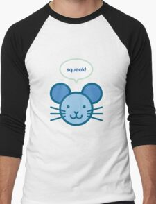 Squeak! Mouse Men's Baseball ¾ T-Shirt