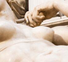 Michelangelo's sculpture Sticker