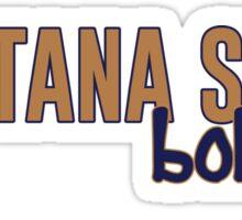 Montana State University Sticker