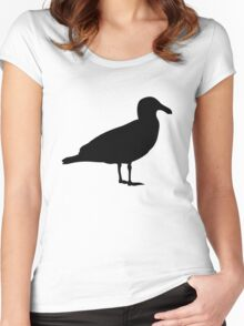 Seagull Women's Fitted Scoop T-Shirt