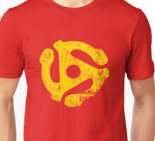 45 RPM Record adapter Tee Unisex T-Shirt
