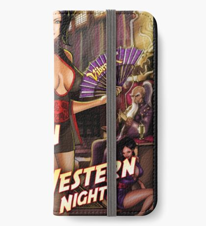 SheVibe Vibratex Eastern Delights - Western Nights Cover Art iPhone Wallet/Case/Skin