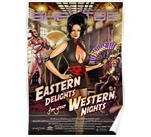 SheVibe Vibratex Eastern Delights - Western Nights Cover Art Poster