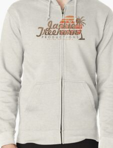 Jackie Treehorn Productions Zipped Hoodie